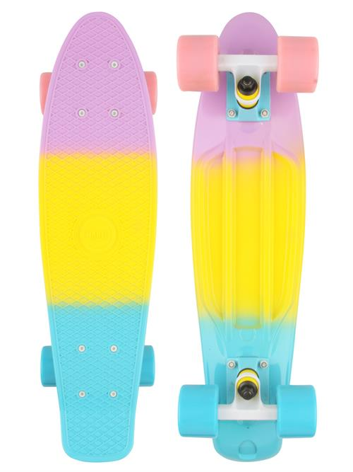 Naked Pastel Fade Deluxe Skateboard