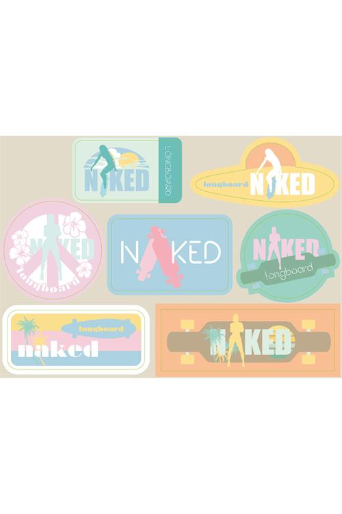Naked Stickers Sheet