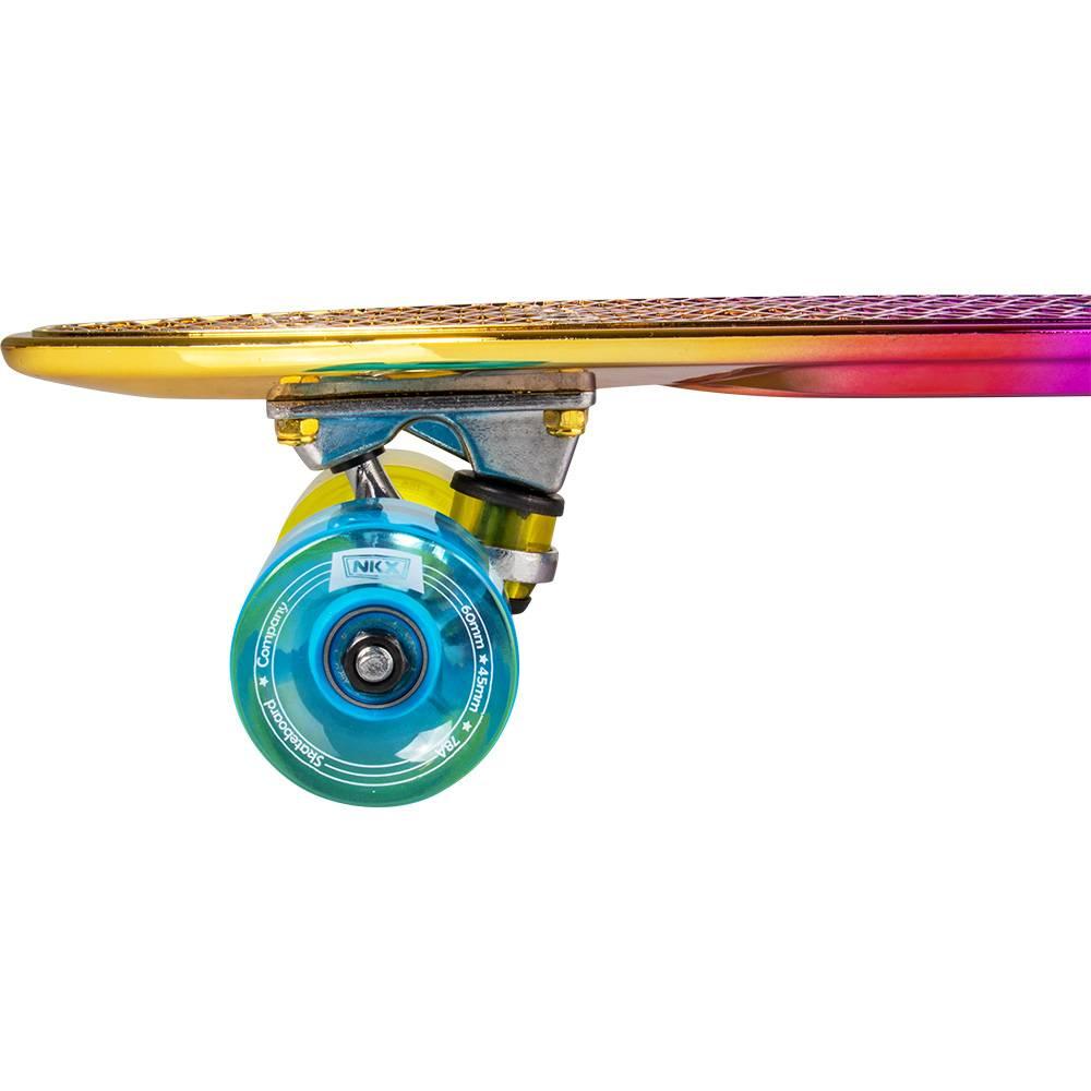 NKX Rainbow Deluxe Skateboard