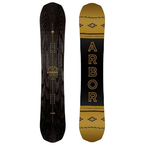Arbor Element Black Camber Snowboard
