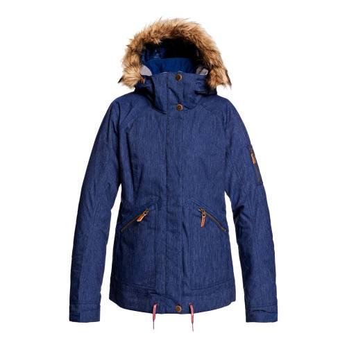 Roxy Meade Denim Snow Jacket