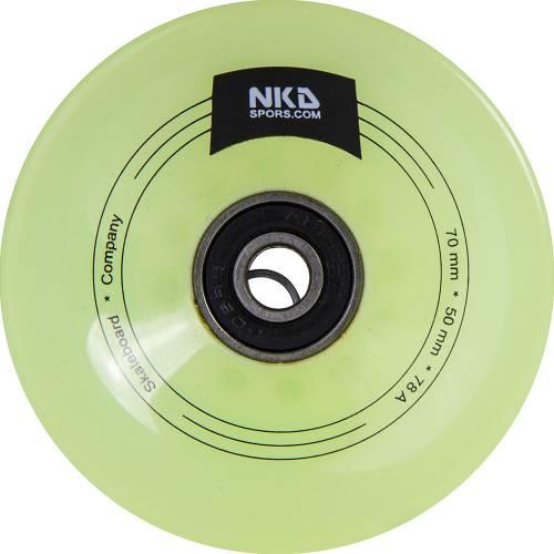 NKD Longboard Wheel 70 mm/78 A