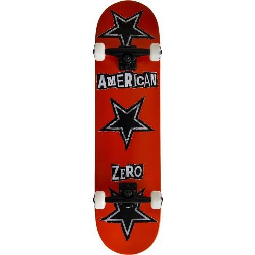 "Zero American Zero Ransom Note Skateboard 8"""