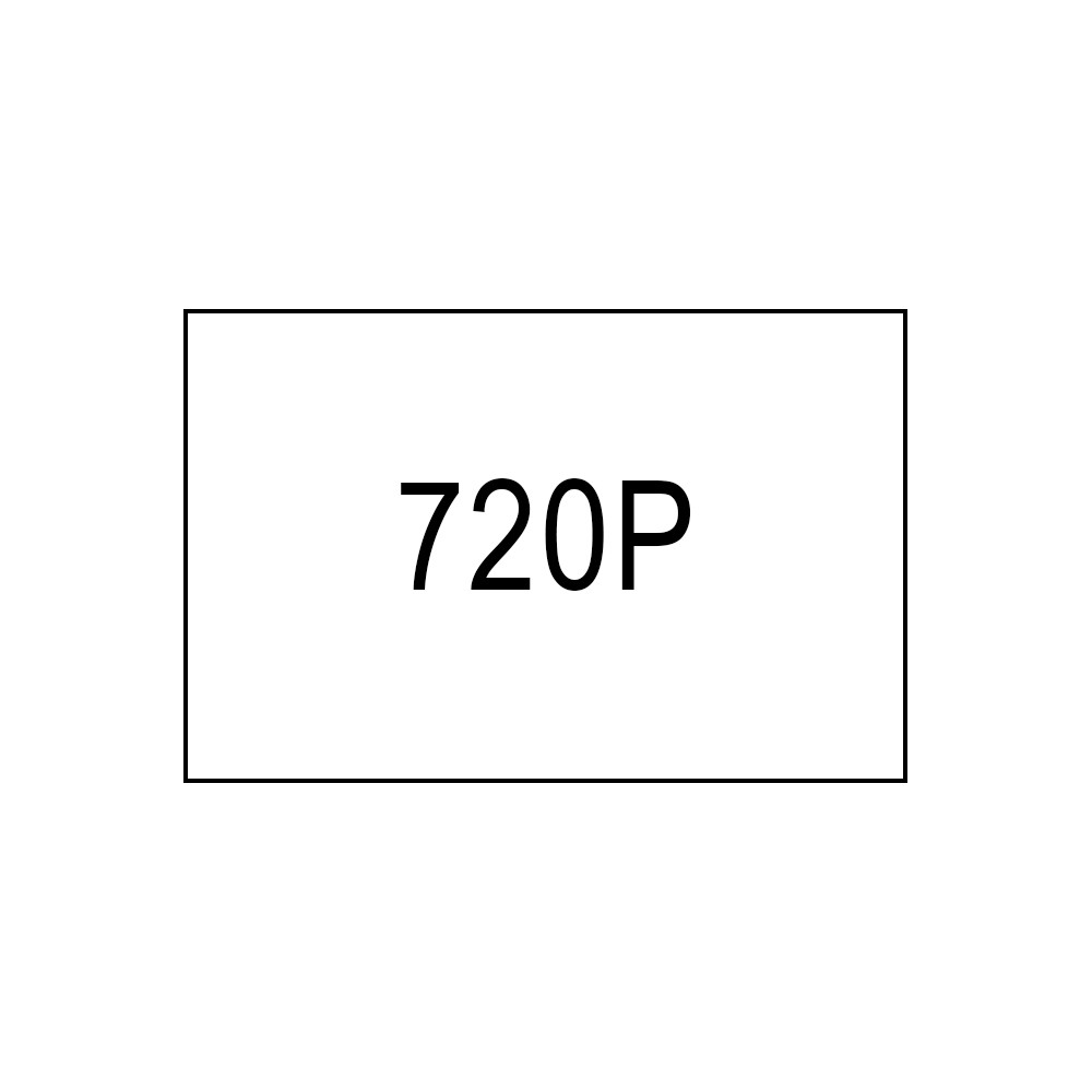With 720p Resolution You Usually See Either 24fps Frames Per Second Or 25 Fps Which Is The Usual Frame Rate For Televison And Film